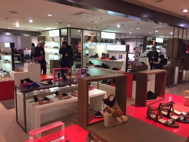 Women Shoe Store at BHV Paris