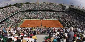 Roland Garros Paris in June 2017