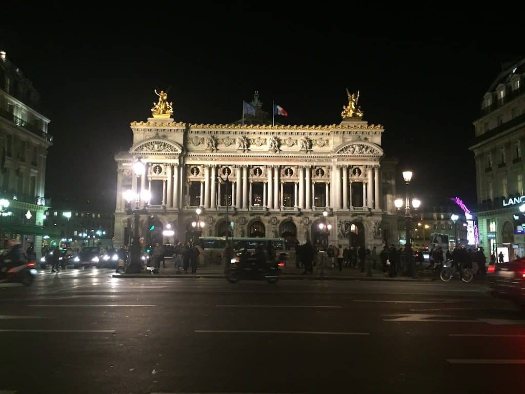 Opera Garnier by night