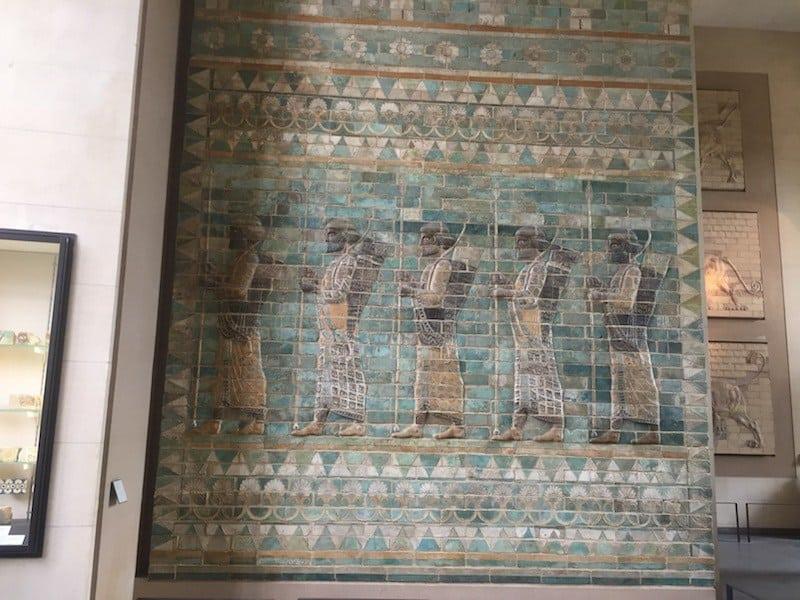 Persische Antiquitäten im Louvre