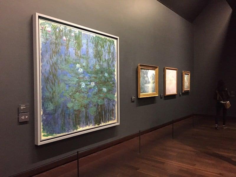 Monets Seerosen bei Orsay