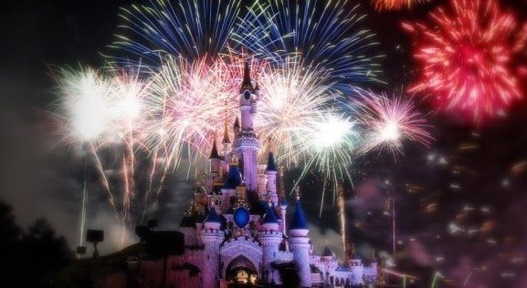 Disney Fireworks in Paris