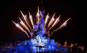 Nochevieja en Disneyland París