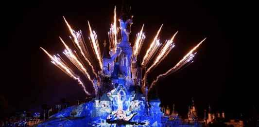 New Year's Eve at Disneyland Paris