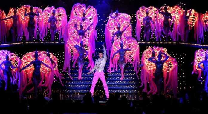 New Year's Eve at Moulin Rouge Cabaret Paris