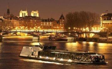 Cena crucero Marina de París
