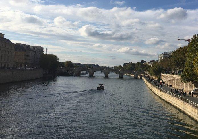 Pont Neuf y el río Sena