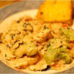 [RECIPE] Easy Creamy Orzo Pasta with Chicken and Broccoli