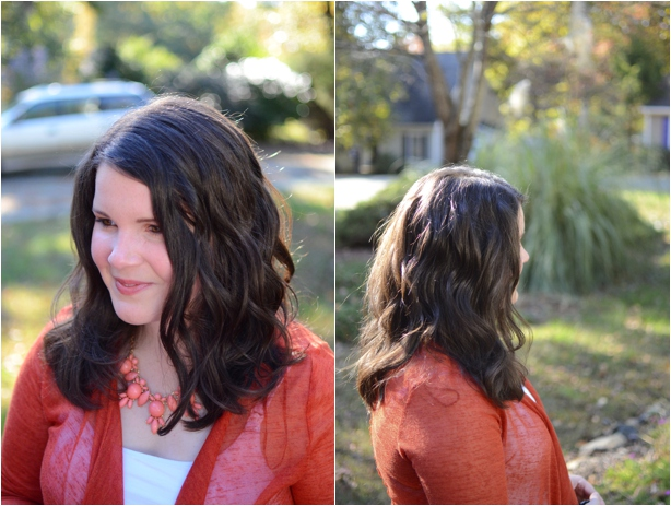 How to Curl Hair with the Infiniti Pro by Conair Curl Secret by fashion blogger Still Being Molly