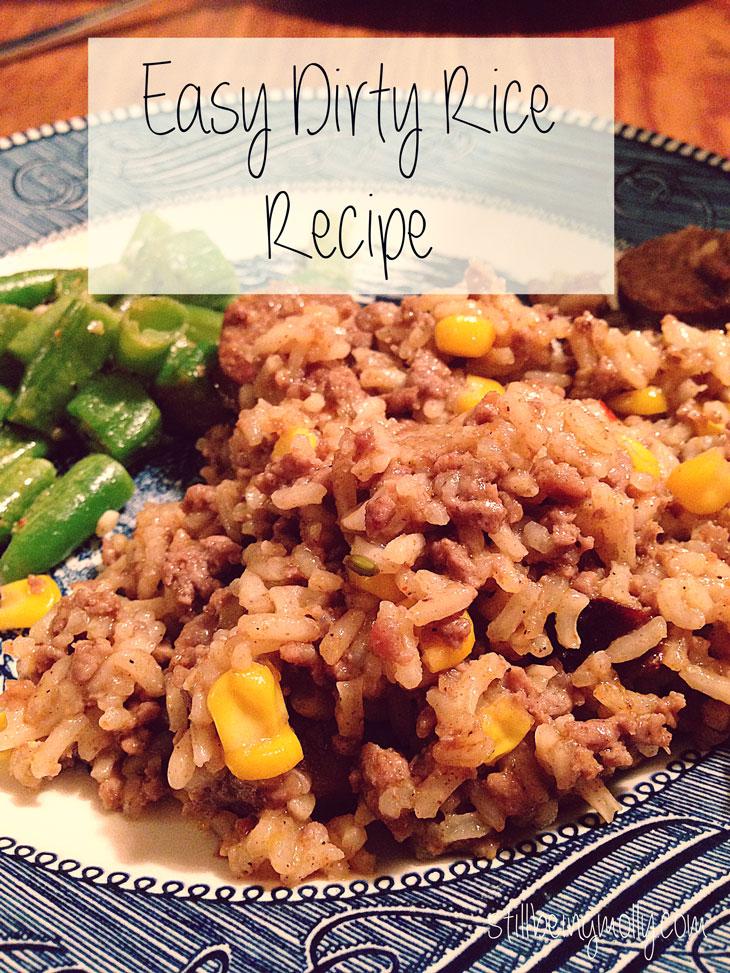 Easy Cajun Dirty Rice Recipe