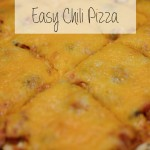 RECIPE | Ridiculously Easy Chili Pizza