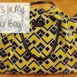 For the Mamas | What's In My (Cloth) Diaper Bag?