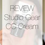 REVIEW | Studio Gear CC Cream