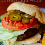 RECIPE | Jalapeno & Salsa Cheeseburger