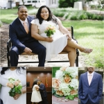 Crystal + Darron {Married} | Raleigh Courthouse Wedding