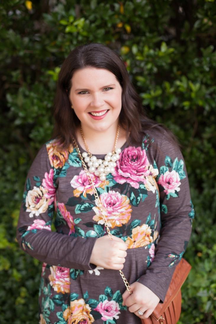 Joules rose sweater dress, Hotter.com Donna heels (2)