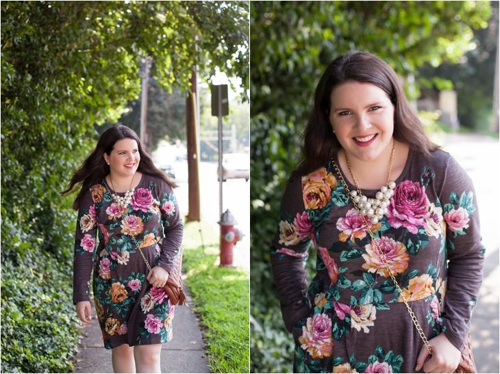 Joules rose sweater dress, Hotter.com Donna heels (5)