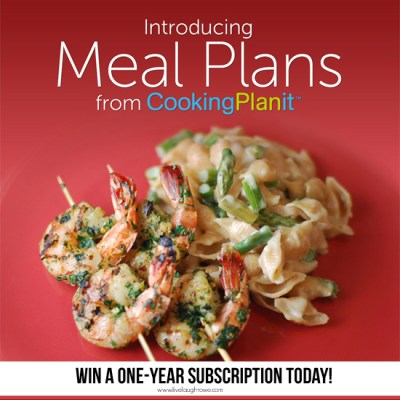 Easy Meal Planning & Giveaway!