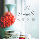 Easy DIY Romantic Bath Salts
