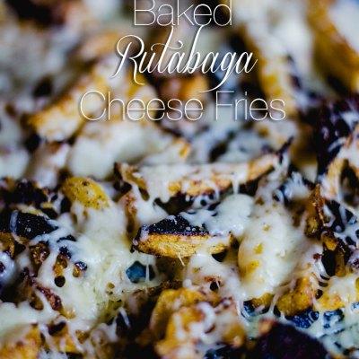 RECIPE | Baked Cajun Rutabaga Cheese Fries
