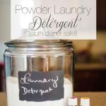 DIY Powder Laundry Detergent