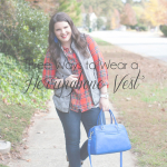 Three Ways to Wear a Herringbone Vest