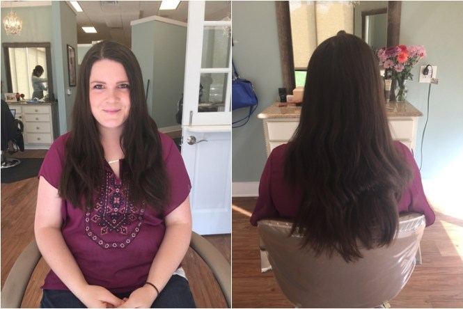 With Fine Or Thinner Hair Long Angled Is Also A Great Option Highlights Add Sense Of Depth To Long Layers Keep Maximum Volume Around The