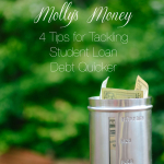 4 Tips for Tackling Student Loan Debt Quicker | Molly's Money