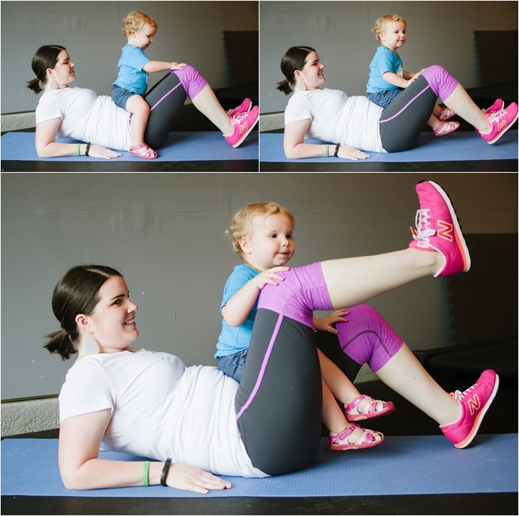 Pregnancy and Prenatal Fitness   15 Minute Low Impact Workout (10)
