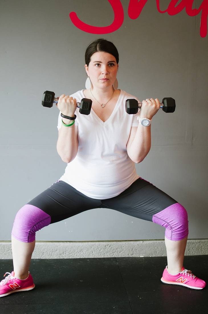 Pregnancy and Prenatal Fitness   15 Minute Low Impact Workout (5)