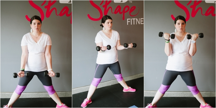 Pregnancy and Prenatal Fitness   15 Minute Low Impact Workout (3)