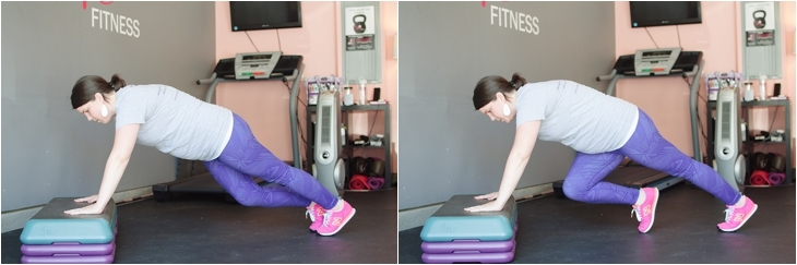 Fitness Friday | Easy At-Home Prenatal Step Cardio Workout (5)