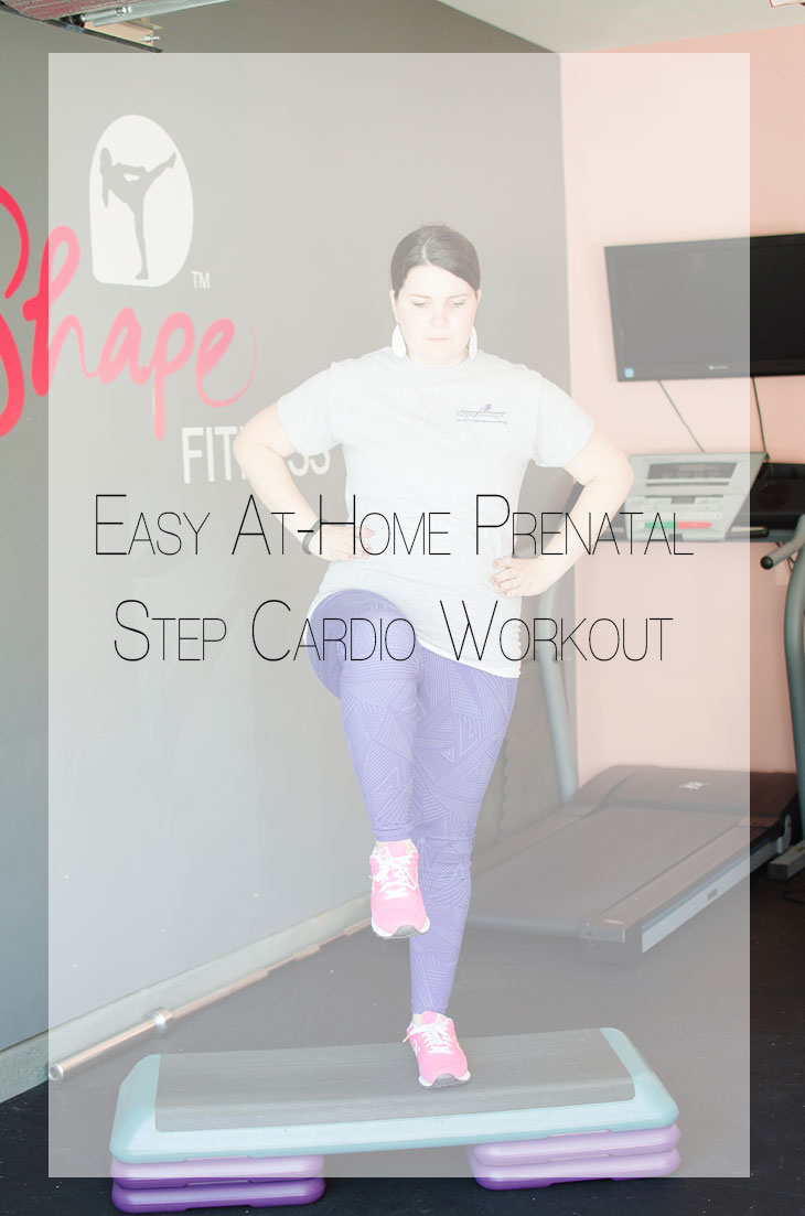 Fitness Friday | Easy At-Home Prenatal Step Cardio Workout (8)