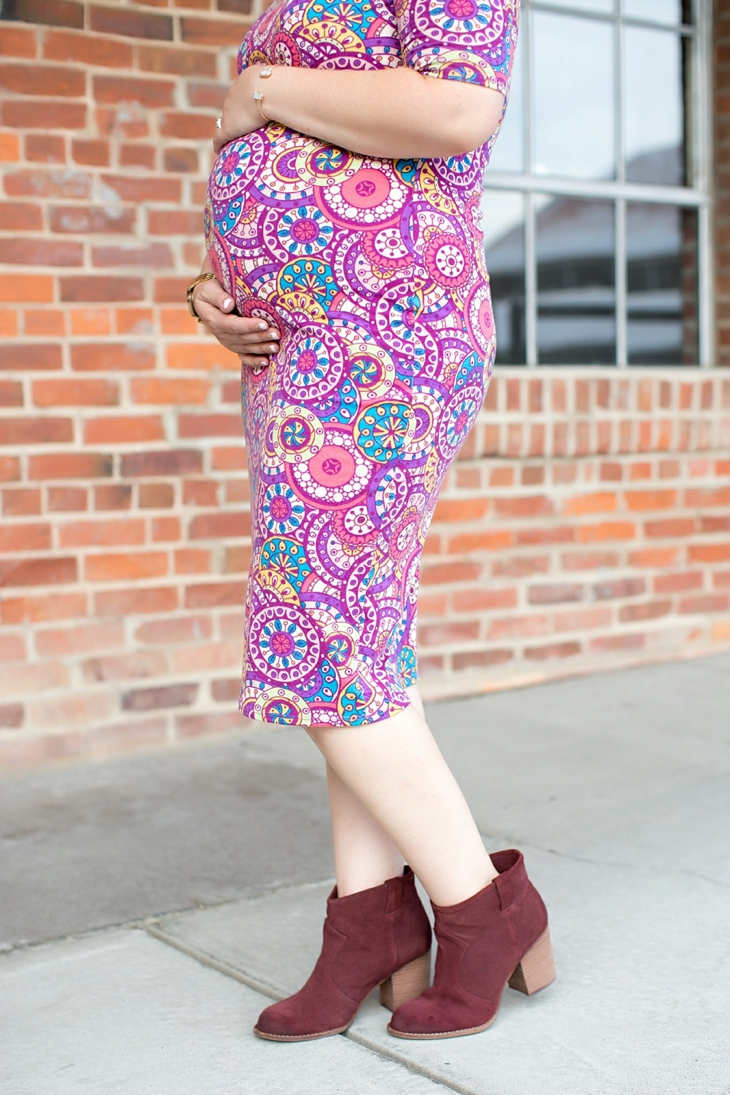LulaRoe Julia Dress | Maternity Fashion & Style