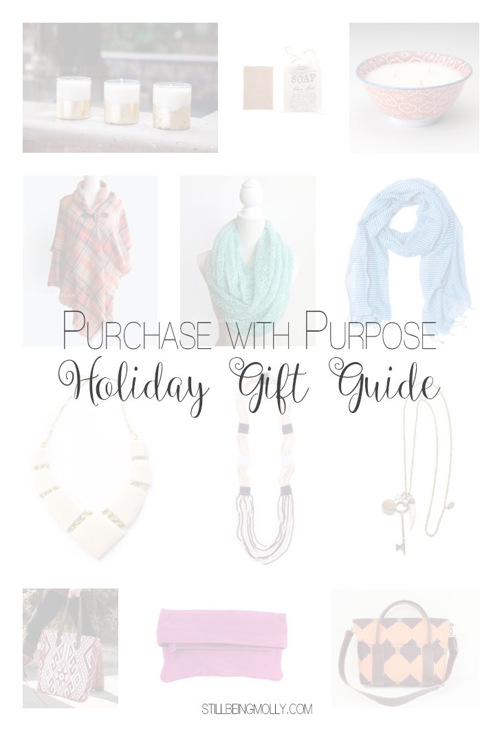 Your Purchase with Purpose Holiday Gift Guide