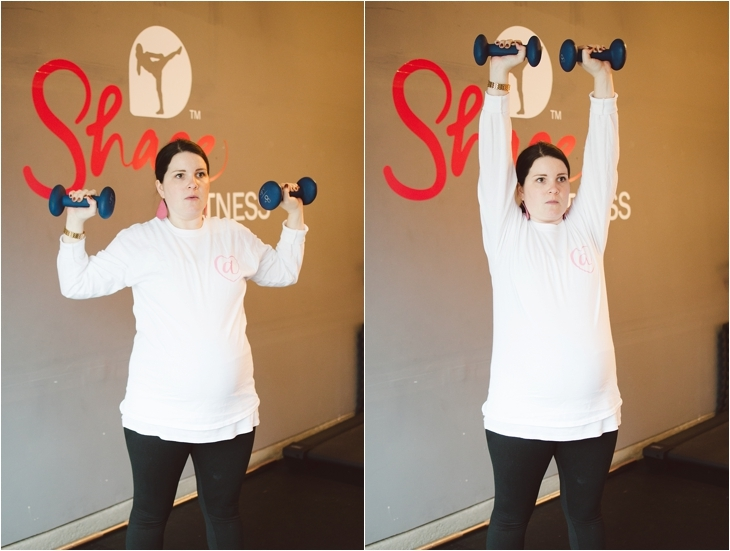 """A Prenatal Workout for the """"Nearly-Immobile"""" Pregnant Woman (or the times when you just can't move...)   Fitness Friday (4)"""
