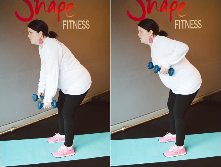"""A Prenatal Workout for the """"Nearly-Immobile"""" Pregnant Woman (or the times when you just can't move...)   Fitness Friday (5)"""