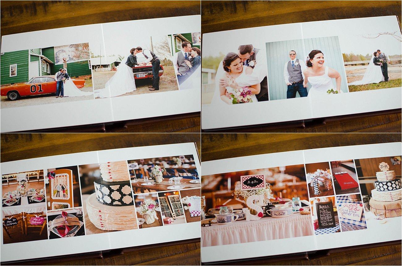 Leather Craftsman Wedding Album 8x8 Review (11)