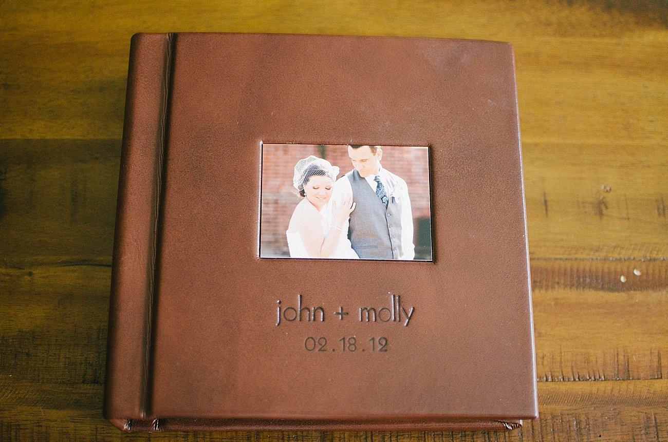 Leather Craftsman Wedding Album 8x8 Review (3)