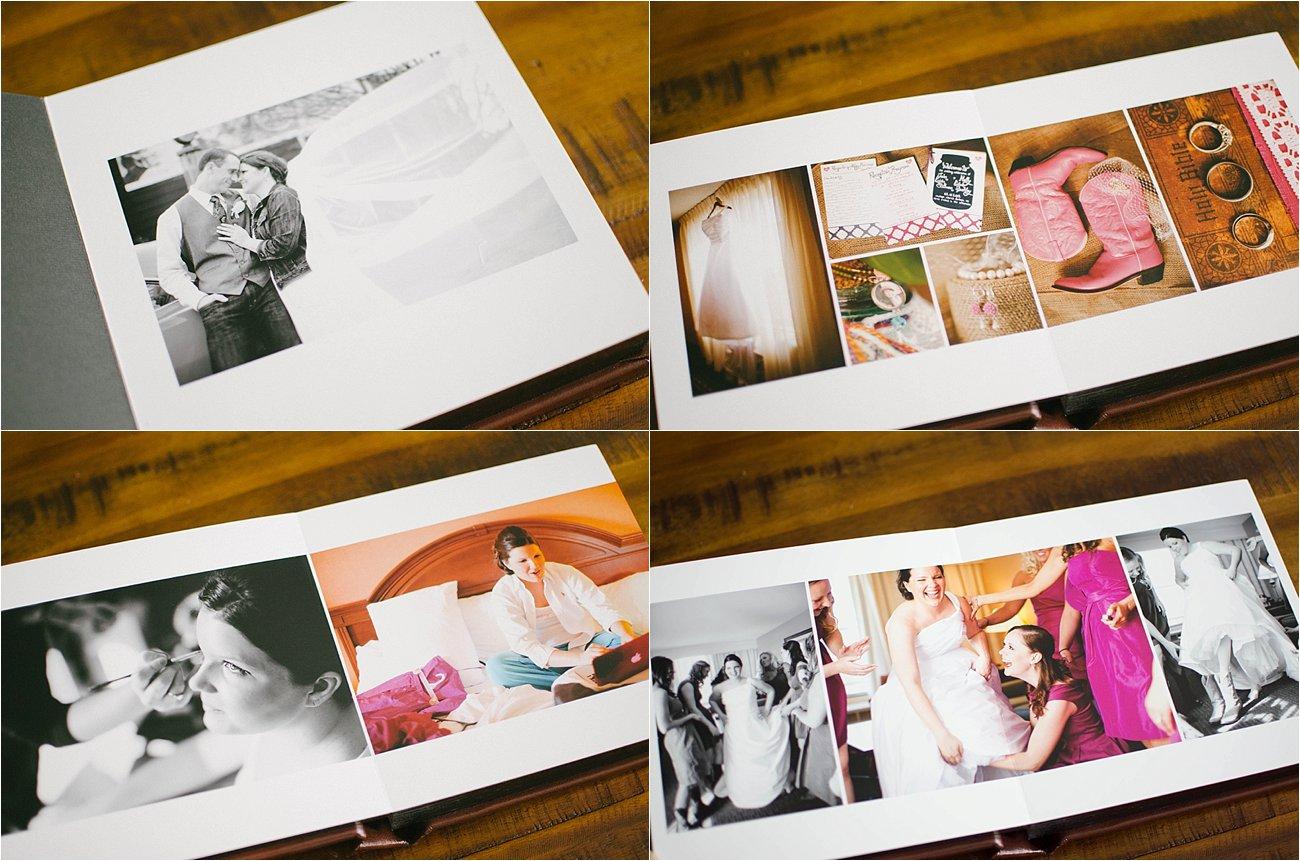 Leather Craftsman Wedding Album 8x8 Review (6)