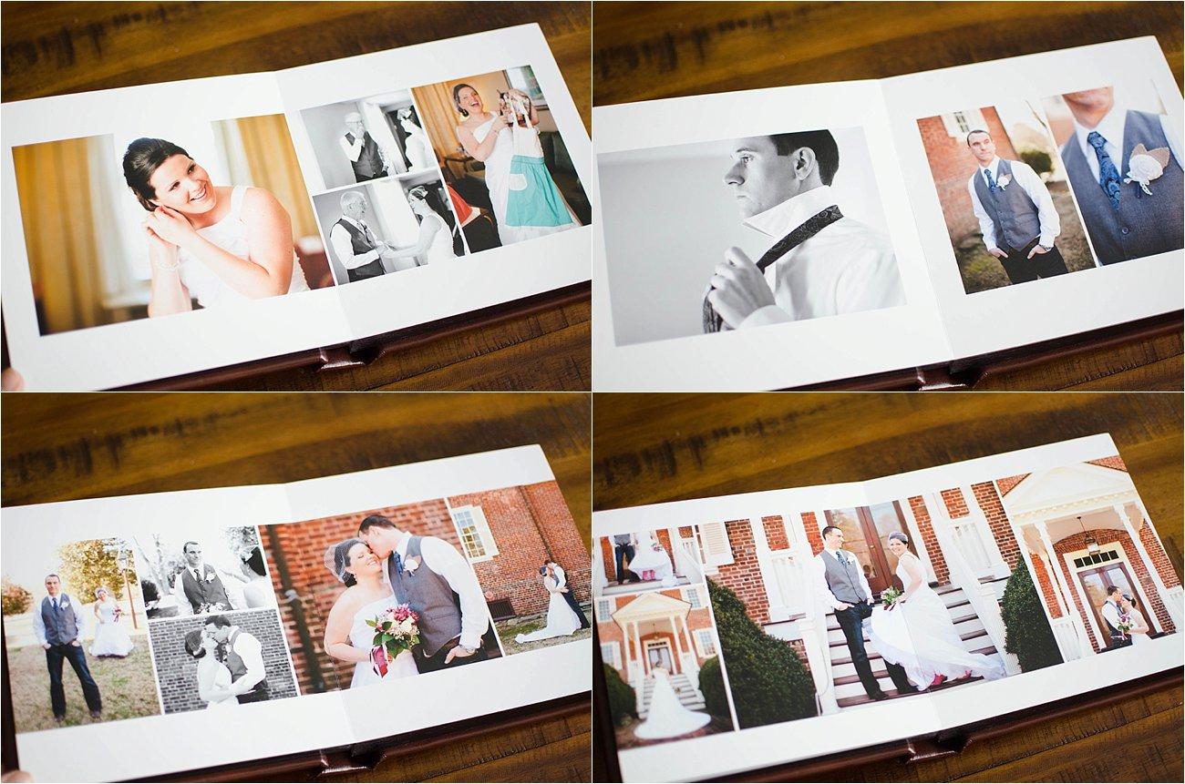 Leather Craftsman Wedding Album 8x8 Review (7)