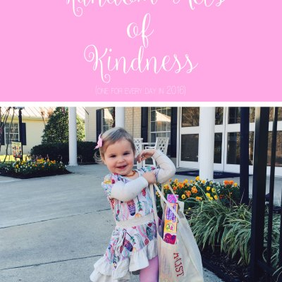 366 Random Acts of Kindness (& Link-Up)