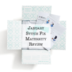 January Stitch Fix Maternity Review
