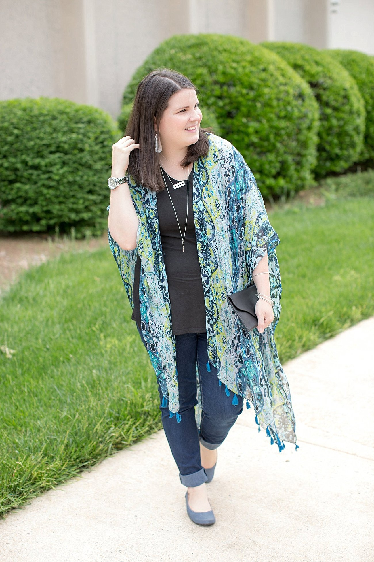 The Flourish Market, Threads 4 Thought Ruana, Elegantees Vanessa top, The Root Collective, Ethical Fashion and Style | North Carolina Fashion Blogger (1)