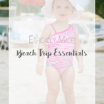 All Your Ethically Made Beach Trip Essentials | Purchase with Purpose