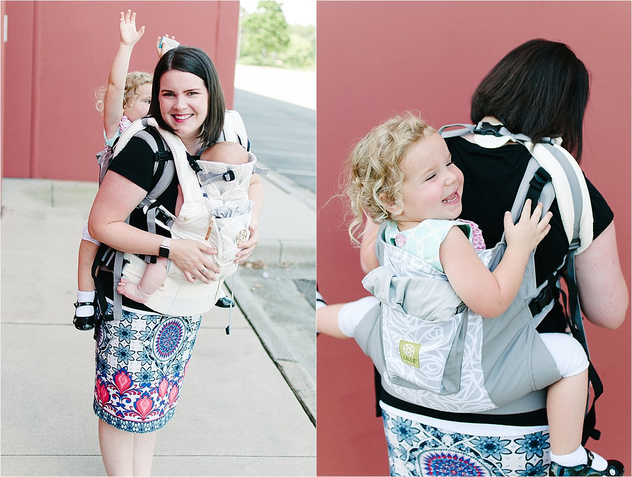 with Lillebaby Complete & CarryOn Baby Carriers #babywearing #tandemwearing #toddlerwearing (8)