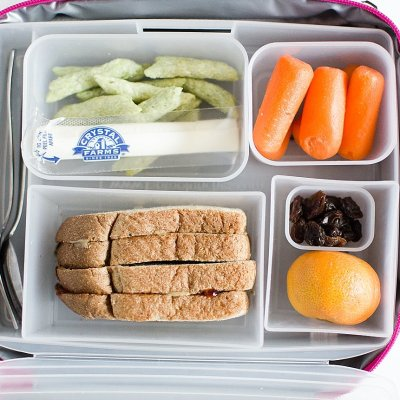 Healthy (Nut Allergy Free!) Toddler Lunch Idea with Relay Foods