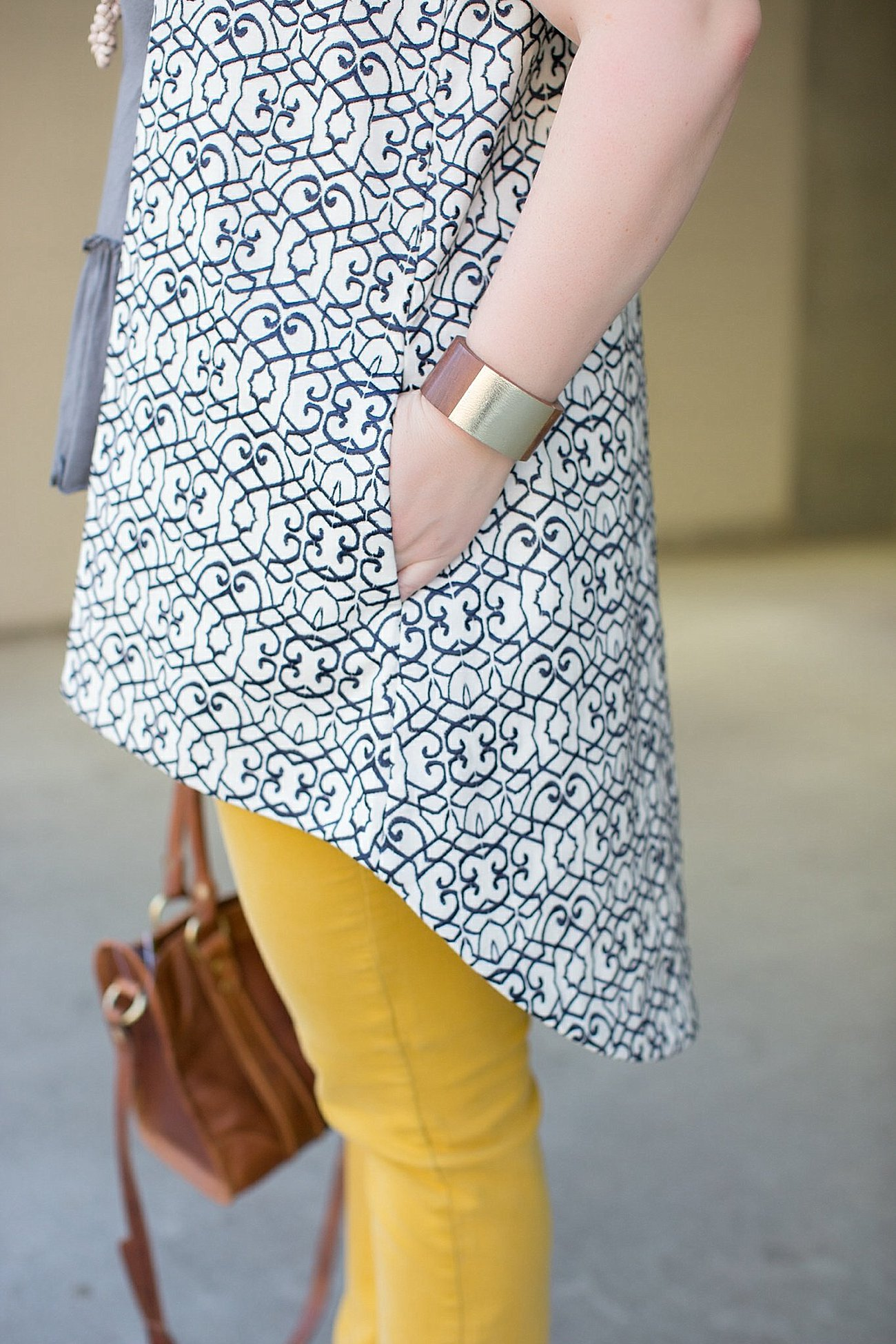 """Victoria Road embroidered vest, Mustard Jeans, Elegantees Dakota Tee, The Root Collective """"Izzie"""" dorsay flats, JOYN bag, ethical fashion, ethical fashion blogger, fashion for good (5)"""