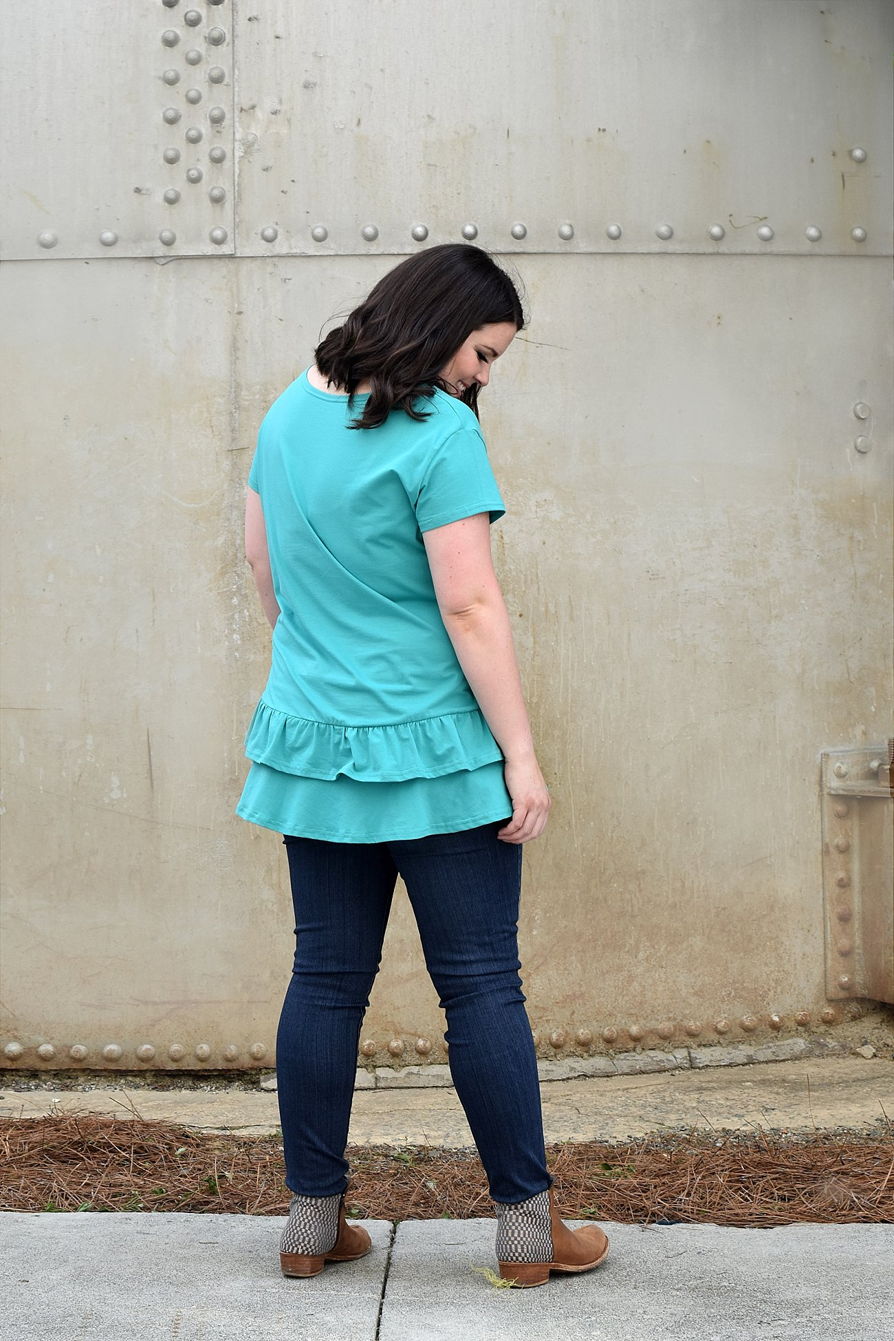 """How to Style the Elegantees """"Abbi"""" Top from the Let it Shine Collection - ethical fashion blogger - ethical style blogger - casual ethical fashion (8)"""