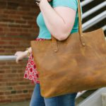 The Best Ethically Made Brown Leather Bag (and a $200 giveaway to Love41)